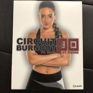X-Train fit circuit burnout 90